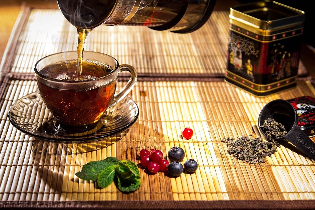 tea negro - Los  Beneficios de un buen Té
